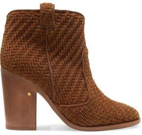 Laurence Dacade Nico Herringbone Velvet Ankle Boots