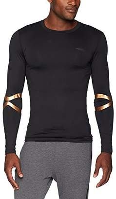 Copper Fit Pro Men's Long Sleeve Crew Neck Compression Tee