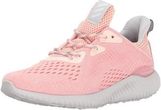 adidas Women's Alphabounce em w Running Shoe, Mystery Grey Two/Petrol Night, 6 Medium US