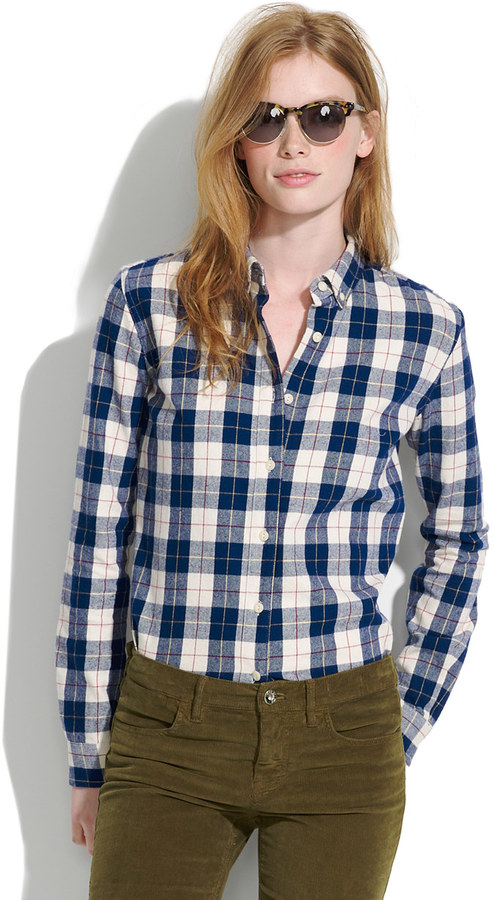 Penfield Stokes Checked Flannel Shirt