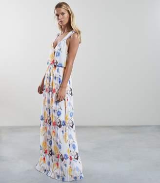 Reiss Daniella Floral Print Maxi Dress