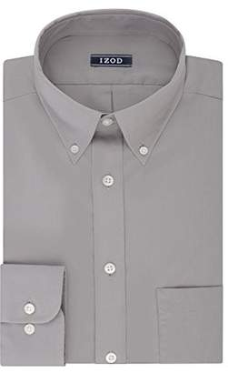Izod Mens Dress Shirts Regular Fit Stretch Buttondown Collar