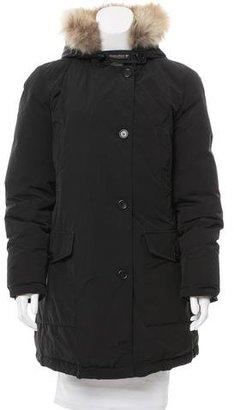 Woolrich Short Down Coat $345 thestylecure.com