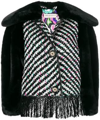 Emilio Pucci embroidered fringed jacket