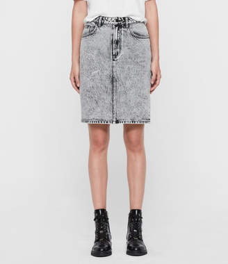 AllSaints Nara Pencil Skirt