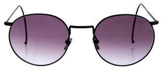 Benjamin Eyewear Gradient Circle Sunglasses