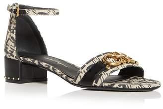 39b98e832ad3 Salvatore Ferragamo Women s Como Ankle Strap Block-Heel Sandals