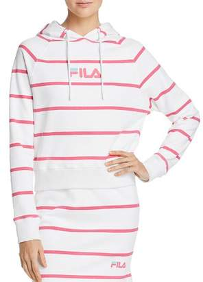 Fila Tempest Striped Hooded Sweatshirt