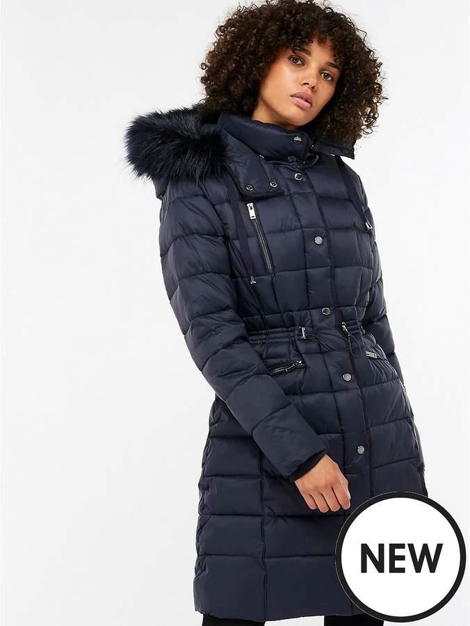 Hallie Long Padded Coat