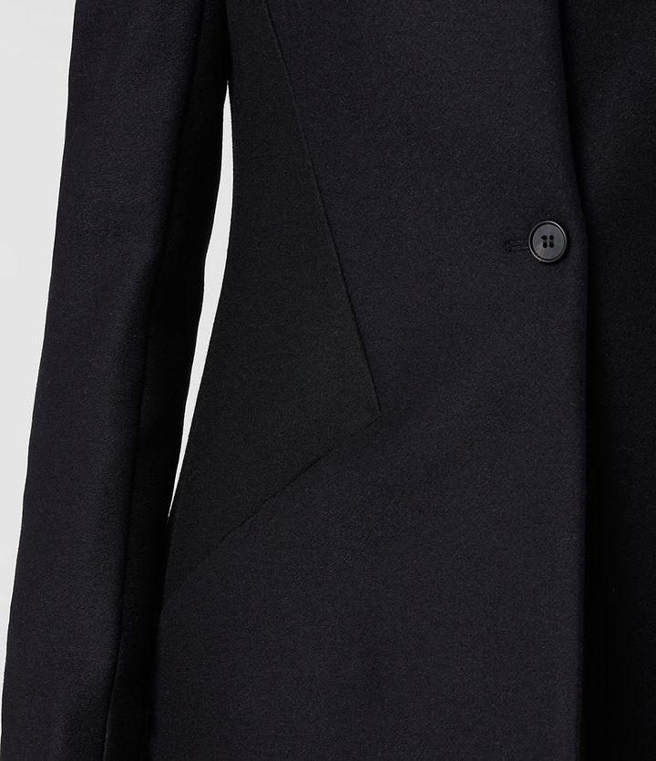 AllSaints Vita Wool Coat