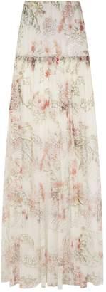 Giambattista Valli Silk Maxi Skirt