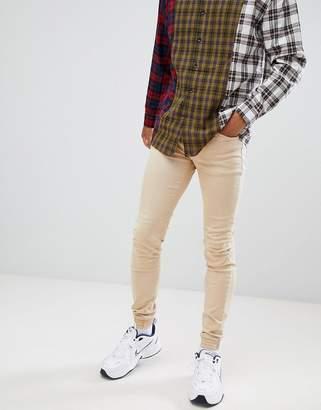 Sixth June Skinny Fit Biker Jeans