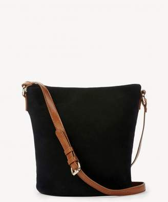 Sole Society Lana Genuine Suede Slouchy Crossbody