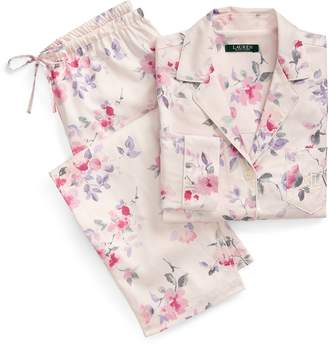 Ralph Lauren Floral Cotton Sleep Set