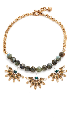 Lulu Frost Marjorelle Necklace $395 thestylecure.com