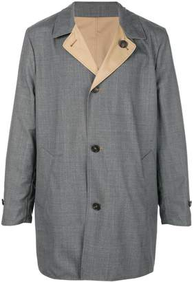 Brunello Cucinelli reversible trench coat