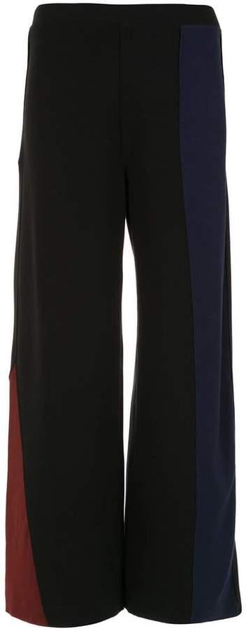 Mara Mac panelled palazzo pants