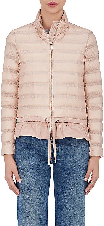 Moncler Moncler Women's Anemone Channel-Quilted Down Jacket