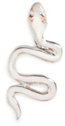 Loquet London 18K WHITE GOLD CHINESE NEW YEAR CHARM - SNAKE