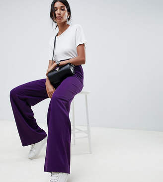 Asos Design DESIGN Tall the wide leg wide leg pants with pleat detail