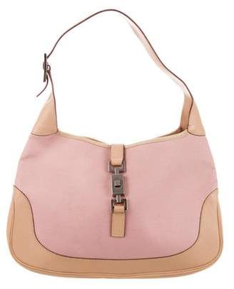 2951fa351eb5 Gucci Leather-Trimmed Jackie Hobo
