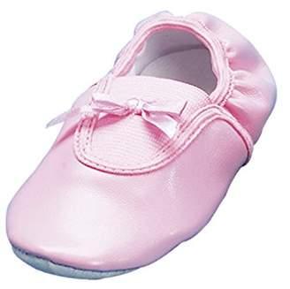 Playshoes Girls Ballerina Ballet Flats and Gymnastic Shoes Bow Flatform 208752 4 UK Child, 20 EU, Regular