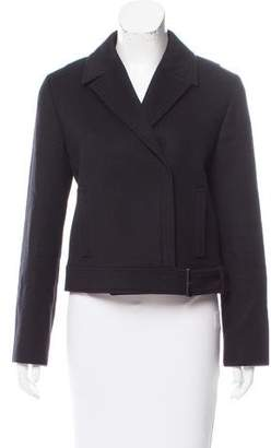 Calvin Klein Collection Wool & Angora-Blend Short Coat