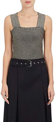 A.L.C. Women's Lia Metallic Compact Knit Top