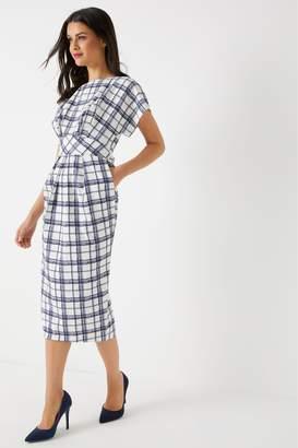 Next Womens Closet Gold A line Wrap Dress