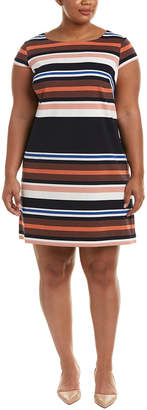 Adrianna Papell Plus Shift Dress