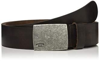 Tom Tailor Men's Leather Belt (Roasted Cafe Brown 8612)