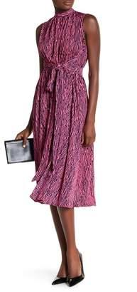 Leota Mindy Printed Midi Dress