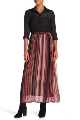 ECI Long Pleated Skirt