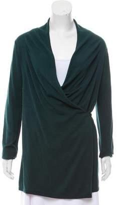 Armani Collezioni Silk & Wool Cardigan
