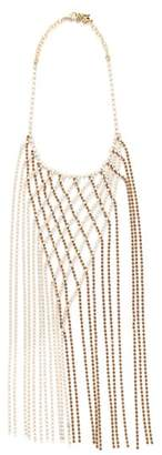 Rosantica By Michela Panero - Oasis Crystal Embellished Necklace - Womens - Gold Multi