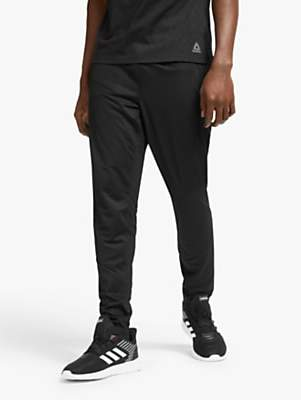 adidas Reebok Speedwick Knit Trackster Training Pants, Black