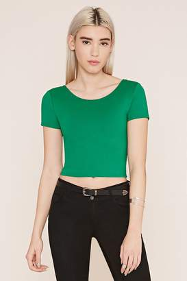 Forever 21 Surplice-Back Top