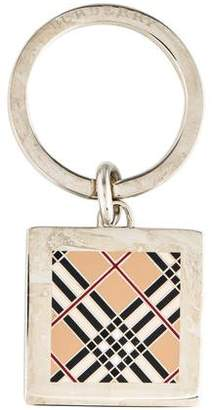 Burberry Square House Check Keychain