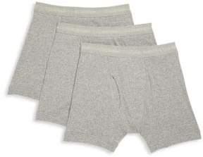 Calvin Klein Underwear Three-Pack Cotton Boxer Briefs