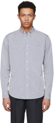 Schnaydermans Grey Poplin Leisure One Shirt