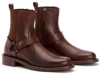 Aquatalia Alexa Burnished Leather Boot