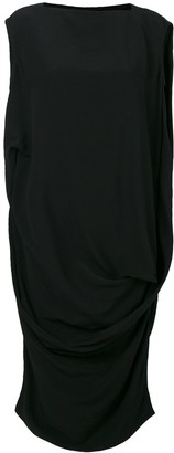 Rick Owens loose fit sleeveless dress