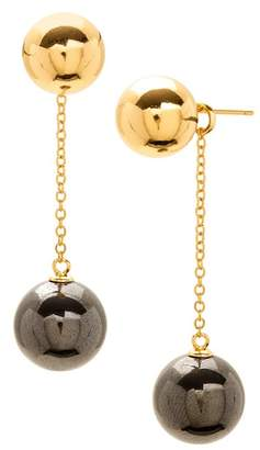 Gorjana Newport Ball Chain Drop Earrings