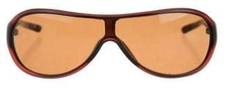 Saint Laurent Tinted Shield Sunglasses