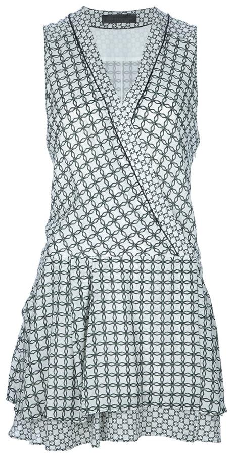 Proenza Schouler printed wrap dress