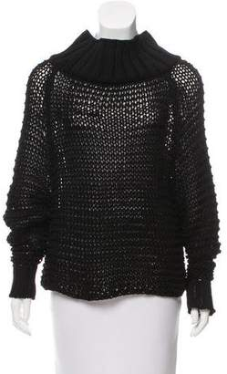 Calvin Klein Collection Open Knit Oversize Sweater w/ Tags