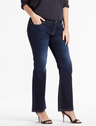 Lucky Brand PLUS SIZE GINGER PETITE BOOTCUT JEAN IN TWILIGHT BLUE