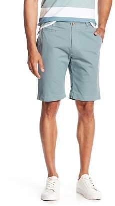 Louis Raphael Slim Fit Twill Shorts