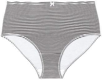 Striped Cotton Brief Panty - ti Voglio
