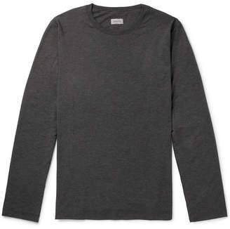 Hanro Mélange Stretch-Jersey T-Shirt